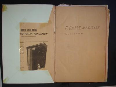 Libro de confirmaciones No. 7