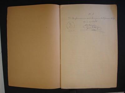 Cuadernillo de confirmaciones, copia no. 1 del libro no. 8