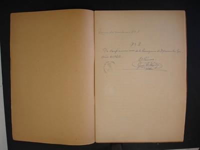 Cuadernillo de confirmaciones, copia no. 2 de los libros no. 8 y 9