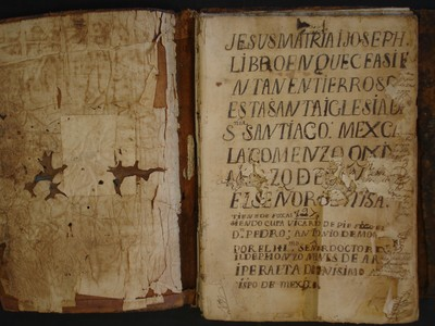 Libro de entierros No. 2