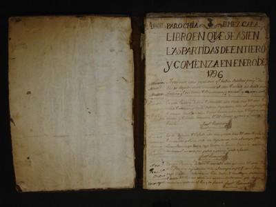 Libro de entierros Mezcala No. 8