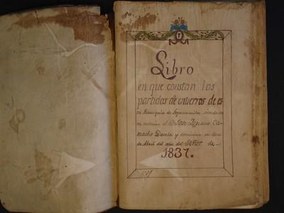 Libro de entierros No. 12