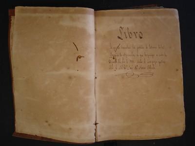 Libro de entierros No. 14