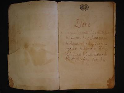 Libro de entierros No. 16