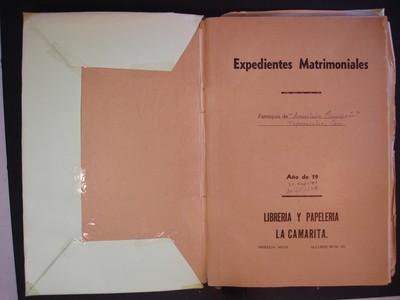 Libro de matrimonios No. 5