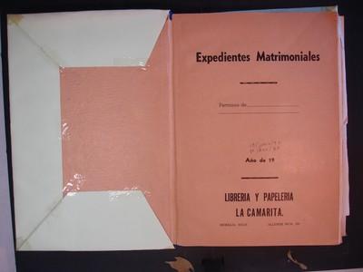 Libro de matrimonios No. 7