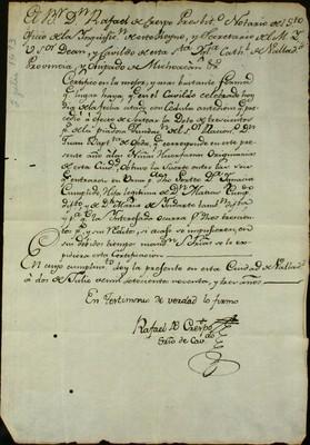 Libro Cabildo 3368 de la sección Gobierno serie Secretaria-Certificaciones