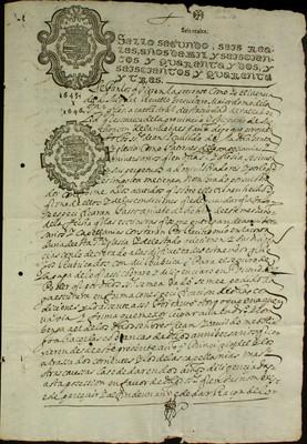 Libro Cabildo 3373 de la sección Administración Pecuniaria serie Colecturia-Capellanías y aniversarios