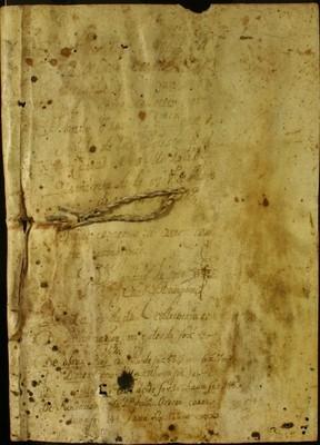 Libro Cabildo 3376 de la sección Administración Pecuniaria serie Colecturia-Capellanías y aniversarios