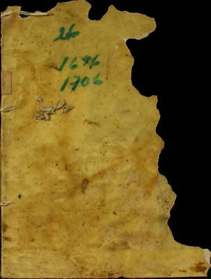 Libro Cabildo 3378 de la sección Administración Pecuniaria serie Colecturia-Capellanías y aniversarios