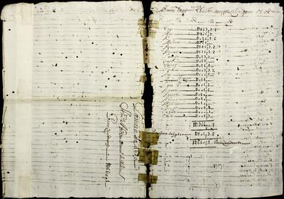 Libro Cabildo 4192 de la sección Administración Pecuniaria serie Colecturia-Diezmos (Zamora)