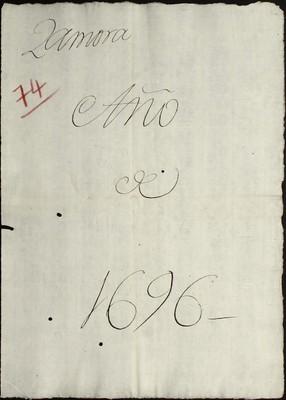 Libro Cabildo 4198 de la sección Administración Pecuniaria serie Colecturia-Diezmos (Zamora)