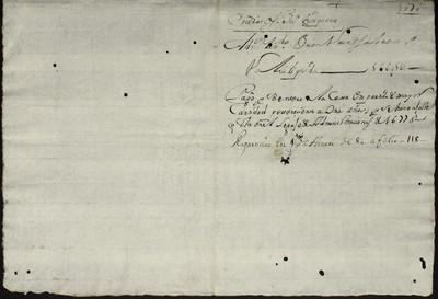 Libro Cabildo 4200 de la sección Administración Pecuniaria serie Colecturia-Diezmos (Zitacuaro)