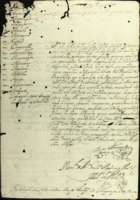 Libro Diocesano 138 de la sección Gobierno serie Mandatos-Circulares