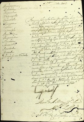 Libro Diocesano 141 de la sección Gobierno serie Mandatos-Circulares