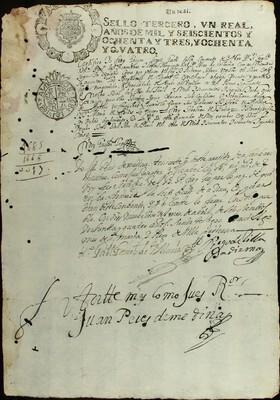 Libro Diocesano 520 de la sección Gobierno serie Religiosos-Catarinas