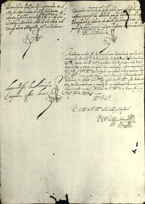 Libro Diocesano 777 de la sección Gobierno serie Sacerdotes-Licencias