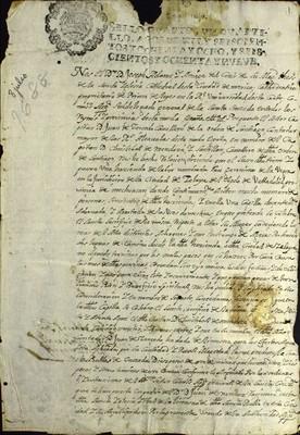 Libro Diocesano 782 de la sección Gobierno serie Sacerdotes-Licencias