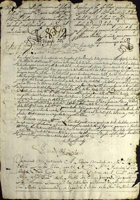 Libro Diocesano 785 de la sección Gobierno serie Sacerdortes-Licencias