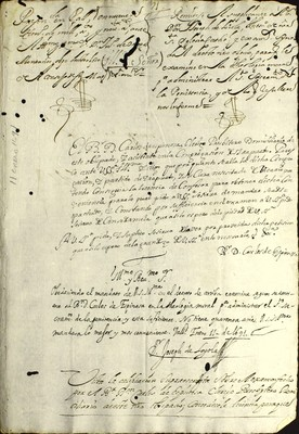 Libro Diocesano 788 de la sección Gobierno serie Sacerdortes-Licencias