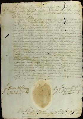 Libro Diocesano 797 de la sección Gobierno serie Sacerdortes-Licencias