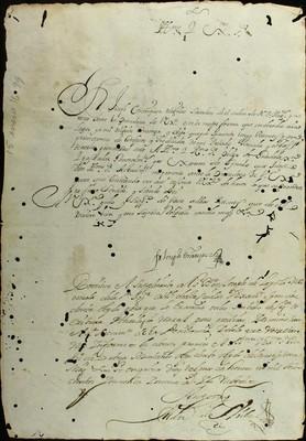Libro Diocesano 799 de la sección Gobierno serie Sacerdortes-Licencias