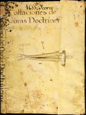 Libro Diocesano 849 de la sección Gobierno serie Sacerdotes-Nombramiento