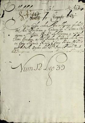 Libro Diocesano 860 de la sección Gobierno serie Sacerdotes-Nombramiento