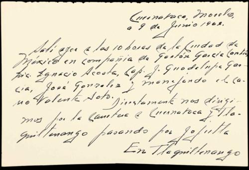 Memorias del general Lázaro Cárdenas del Río: Asesinato de Rubén Jaramillo, 1962