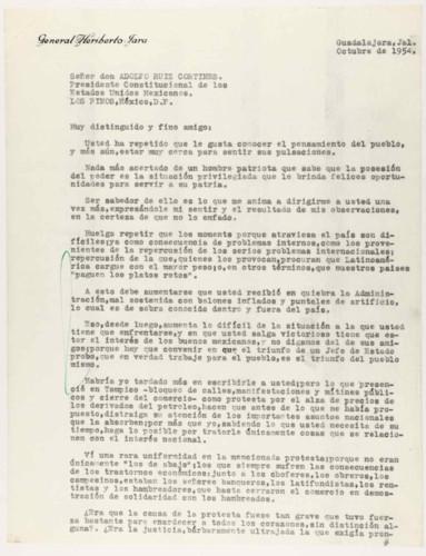 Vida personal del general Lázaro Cárdenas: Protestas por la economía del país