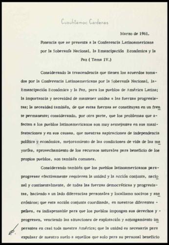 Vida laboral del ingeniero Cuauhtémoc Cárdenas Solórzano: 1961