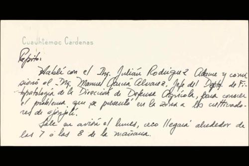 Vida laboral del ingeniero Cuauhtémoc Cárdenas Solórzano: 1963