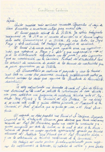 Vida laboral del ingeniero Cuauhtémoc Cárdenas Solórzano: 1964
