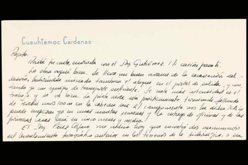 Vida personal del ingeniero Cuauhtémoc Cárdenas Solórzano: 1964