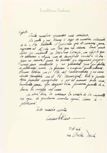 Vida personal del ingeniero Cuauhtémoc Cárdenas Solórzano: Viaje a Puerto Vallarta