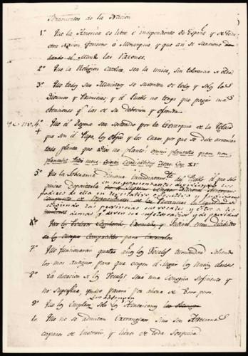 Transcripciones de documentos del Congreso de Anáhuac. Documentos Sr. Morelos.