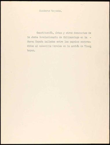 Fotografías de documentos del Congreso de Anáhuac.