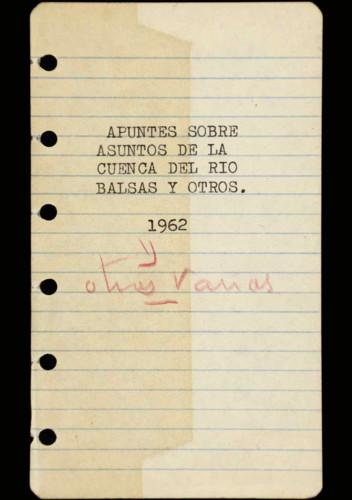 Memorias del general Lázaro Cárdenas: Año 1962
