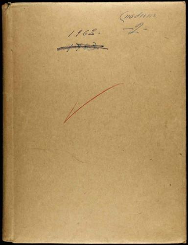 Memorias del general Lázaro Cárdenas: Cuaderno 2 1962