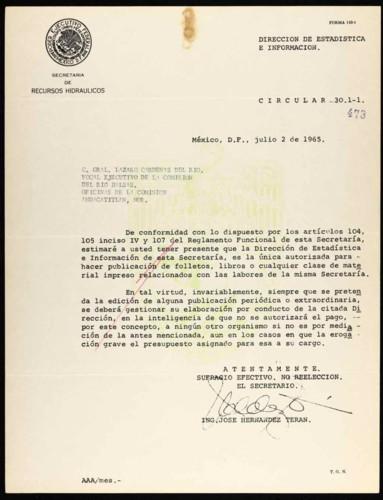 Vida laboral del general Lázaro Cárdenas: Información para gestionar una publicación