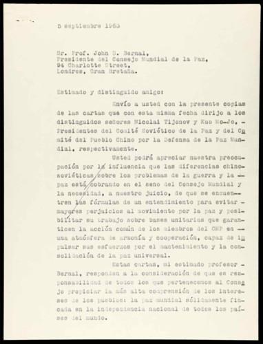 Vida personal del general Lázaro Cárdenas: Interés por las diferencias entre los partidos comunistas de China y la URSS. III