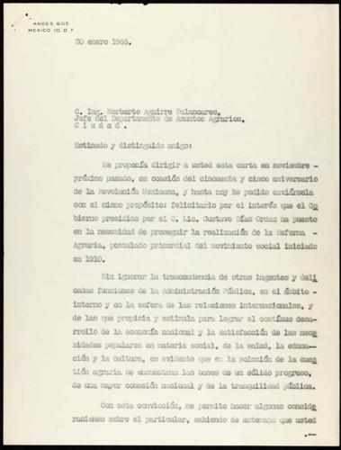 Vida laboral del general Lázaro Cárdenas: 55 Aniversario de la Revolución Mexicana