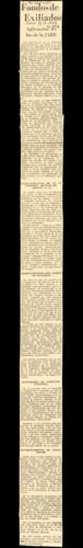 """Aniversario de la muerte del general Obregón fue motivo de disputas entre viejos obregonistas y elementos llamados """"carranco-bonillistas"""", 1943"""