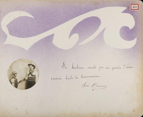 Lámina de José Orozco para Francisco I. Madero (atribuido)