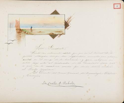 Lámina del Lic. Cecilio A. Robelo para Francisco I. Madero (atribuido)