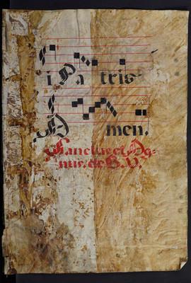Libro de coro Canto llano 10-136879