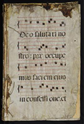 Libro de coro Canto llano 10-136882