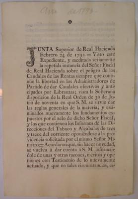 Correspondencia del subdelegado del Real y Minas de Taxco, con un ordenamiento anexo