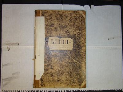 Libro de Bautizos num. 72