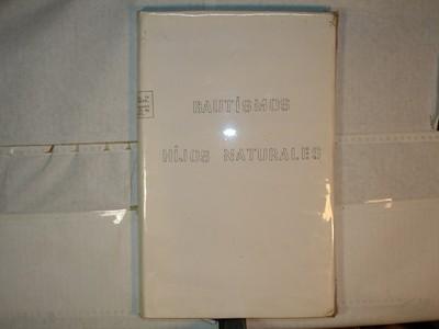 Libro de Bautizos num. 76